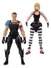 Doomsday Hodiny Akční Figure 2-Pack The Comedian & Marionette 18 cm