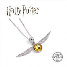 Harry Potter x Swarovski Náhrdelník & Talisman Golden Snitch