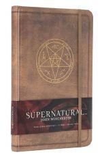 Supernatural Hardcover Ruled Deník John Winchester