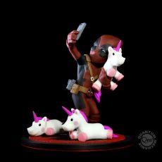 Marvel Q-Fig Diorama Deadpool #unicornselfie 10 cm