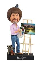The Joy of Painting Bobble-Head Bob Ross 20 cm