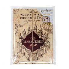 Harry Potter Magnetic Poznámkový Blok A5 The Marauder's Map
