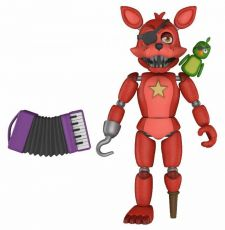 Five Nights at Freddy's Pizza Simulator Akční Figure Rockstar Foxy 13 cm