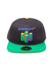 Nintendo Snapback Kšiltovka N64 Logo