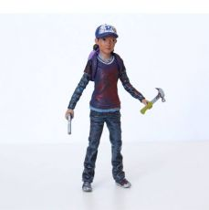 The Walking Dead Akční Figure Clementine (Bloody) 9 cm