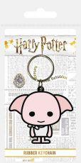 Harry Potter Gumový Keychain Chibi Dobby 6 cm