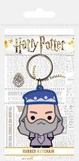 Harry Potter Gumový Keychain Chibi Dumbledore 6 cm