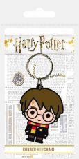 Harry Potter Gumový Keychain Chibi Harry 6 cm