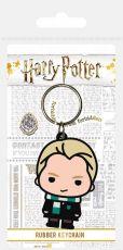 Harry Potter Gumový Keychain Chibi Malfoy 6 cm