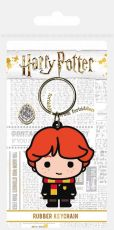 Harry Potter Gumový Keychain Chibi Ron 6 cm