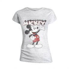 Mickey Mouse Dámské Tričko Present Velikost L