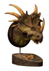 Paleontology World Museum Kolekce Series Bysta Styracosaurus Green Ver. 27 cm