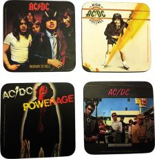 AC/DC Podtácky Pack (4)