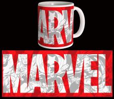 Marvel Comics Hrnek Big Logo