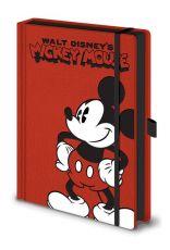 Mickey Mouse Premium Poznámkový Blok A5 Pose
