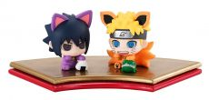 Naruto Shippuden Petit Chara Land Trading Figure 2-Pack Maneki Kyubi Dattebayo! 5 cm