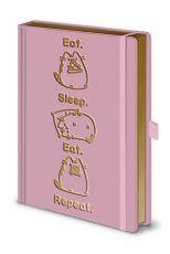 Pusheen Premium Poznámkový Blok A5 Eat. Sleep. Eat. Repeat.