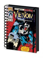 Venom Wiro Poznámkový Blok A5 Lethal Protector