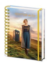 Doctor Who Wiro Poznámkový Blok A5 13th Doctor