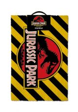 Jurassic Park Rohožka Warning 40 x 60 cm