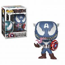 Venom POP! Marvel vinylová Bobble-Head Venomized Captain America 9 cm