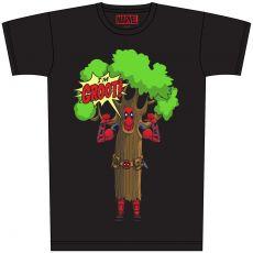 Deadpool Tričko I am Groot Velikost L