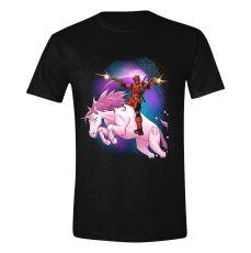 Deadpool Tričko Space Unicorn Velikost S