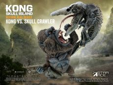 Kong Skull Island Deform Real Series Soft vinylová Soška Kong vs Crawler 23 cm