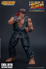 Ultra Street Fighter II: The Final Challengers Akční Figure 1/12 Evil Ryu 15 cm