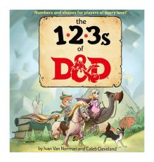 Dungeons & Dragons Book The 123s of D&D Anglická