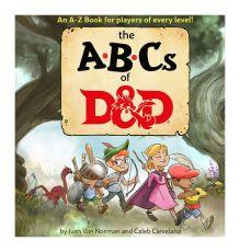 Dungeons & Dragons Book The ABCs of D&D Anglická