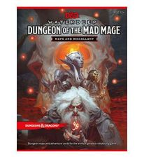 Dungeons & Dragons RPG Waterdeep: Dungeon of the Mad Mage - Maps & Miscellany Anglická