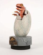 Jurassic Park Soška 1/1 Raptor Hatchling 28 cm