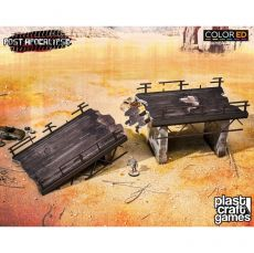 Post Apocalypse ColorED Miniature Gaming Model Kit 28 mm Wasteland Highway #1