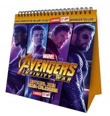 Avengers Infinity War Desk Easel Kalendář 2019 English Verze
