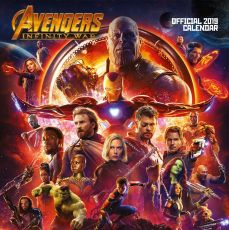 Avengers Infinity War Kalendář 2019 English Verze