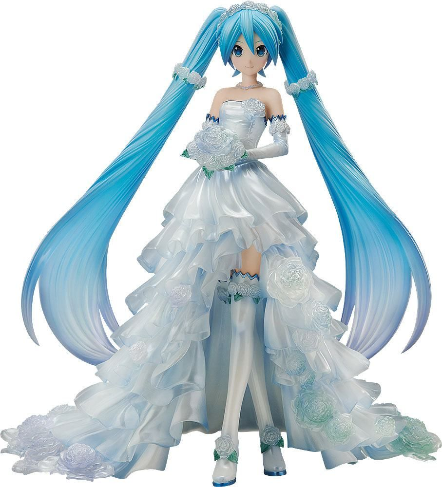 Character Vocal Series 01 Soška 1/7 Hatsune Miku Wedding Dress Ver. 25 cm FREEing
