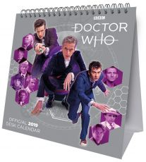 Doctor Who Desk Easel Kalendář 2019 English Verze