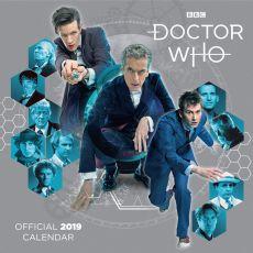 Doctor Who Kalendář 2019 English Verze