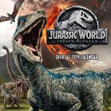 Jurassic World Kalendář 2019 English Verze