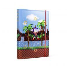 Sonic The Hedgehog A5 Poznámkový Blok Rings