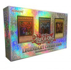 Yu-Gi-Oh! Box Set Legendary Kolekce 1 Gameboard Edition Německá Verze