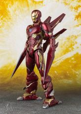 Avengers Infinity War S.H. Figuarts Akční Figure Iron Man MK50 Nano Weapons Tamashii Web Ex. 16 cm