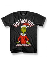 Grinch Tričko HO HO HO! Velikost M
