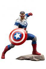 Marvel Comics ARTFX+ PVC Soška 1/10 Captain America (Sam Wilson) 19 cm