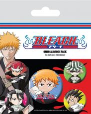 Bleach Pin Placky 5-Pack Chibi Characters