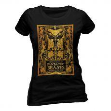 Fantastic Beasts 2 Dámské Tričko Gold Foil Book Cover Velikost S