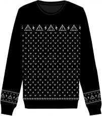 Harry Potter Christmas Mikina Deathly Hallows  Velikost XL