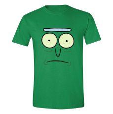 Rick & Morty Tričko Pickle Rick Face Velikost L