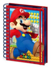 Super Mario 3D Wiro Poznámkový Blok A5 Mario
